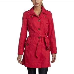 Tommy Hilfiger Marlo pink trench coat